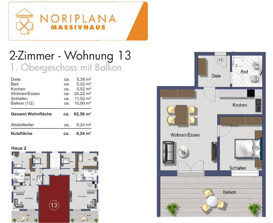 2 Zimmer Wohnung Nürnberg  2 Zimmer Wohnungen