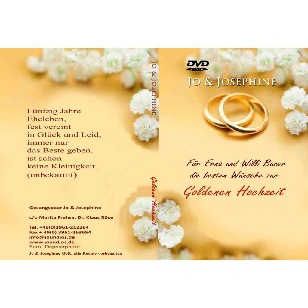 50 Jahre Miteinander Zur Goldenen Hochzeit  Goldene Hochzeit Archive Hochzeitsjubiläen
