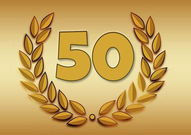 50 Jahre Miteinander Zur Goldenen Hochzeit  Goldene Hochzeit Glückwünsche und Sprüche