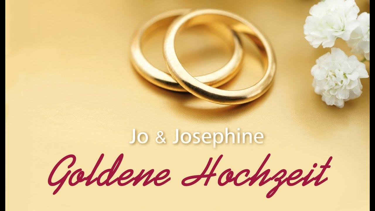 50 Jahre Miteinander Zur Goldenen Hochzeit  Lied zur Goldenen Hochzeit Goldene Hochzeit