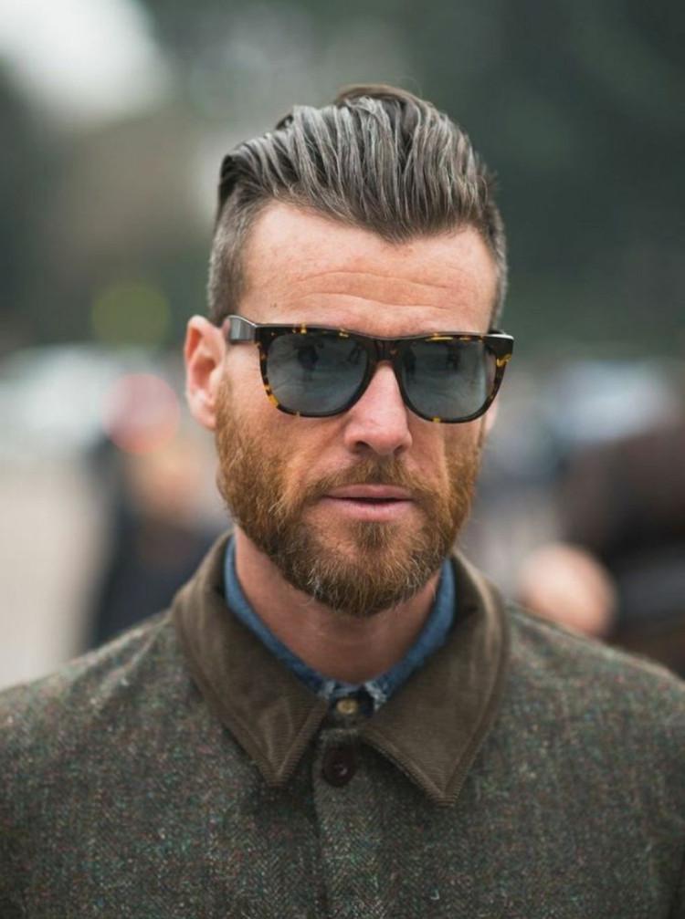 5Mm Haarschnitt  Hipster Bart männlichste souveräne und