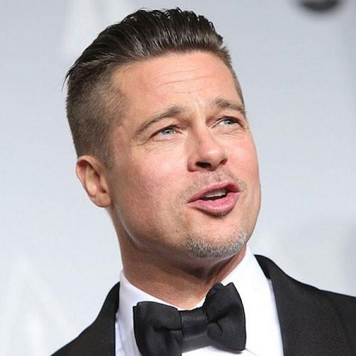 6Mm Haarschnitt  Brad Pitt Haarschnitt Besten Haar Ideen
