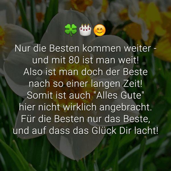 80. Geburtstag Zitate  Sprüche und Glückwunsche zum 80 Geburtstag • MemesBams