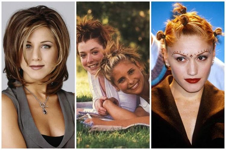 90Er Jahre Frisuren  Trendige Frisuren im Laufe der Jahre Entwicklung der