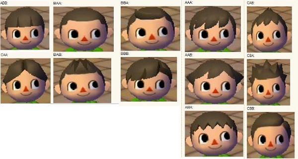 Acww Frisuren  Frisuren Animal Crossing