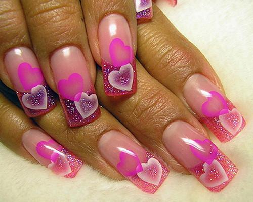 Airbrush Nageldesign  Airbrush Nail Designs