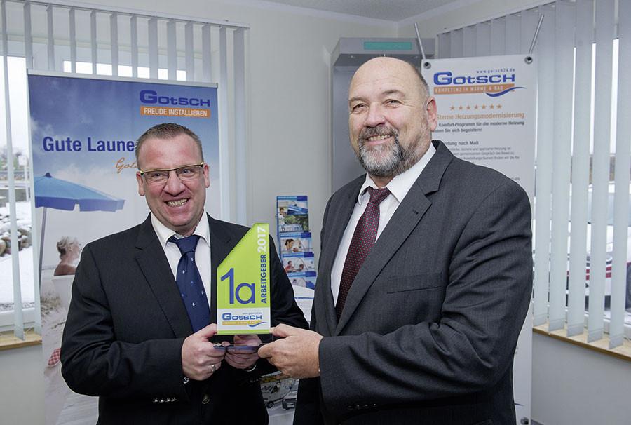 Akademie Zukunft Handwerk  Sanitärbetrieb Gotsch GmbH erhält bundesweit erste
