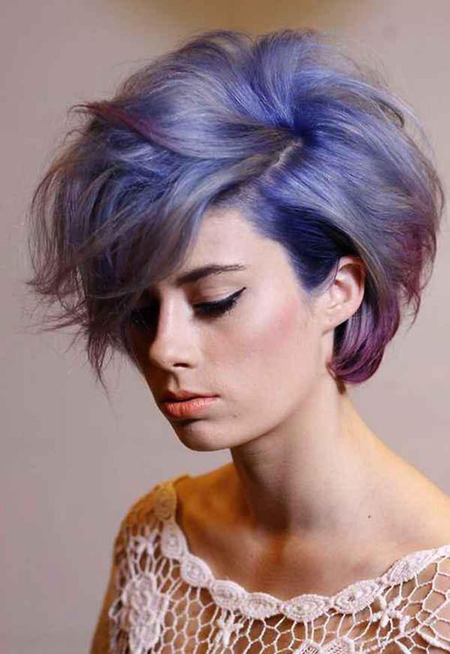 Aktuelle Frisuren Frauen 2019  Modische Kurzhaarfrisuren Frauen 2019 Aktuelle Frisuren