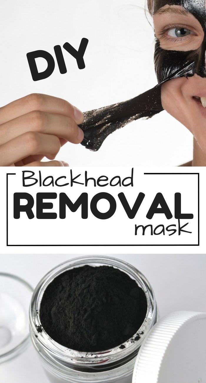Anti Blackhead Maske Diy  DIY Face mask recipe How to Get Rid of Blackheads