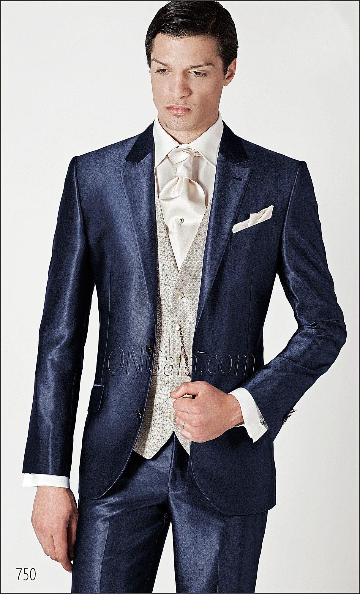 Anzug Hochzeit Bräutigam  ONGala 750 Bräutigam Anzug blau