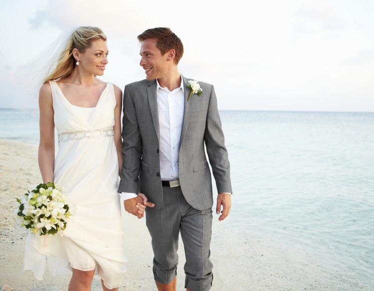 Anzug Hochzeit Bräutigam  Heiraten am Strand welcher Anzug für den Bräutigam