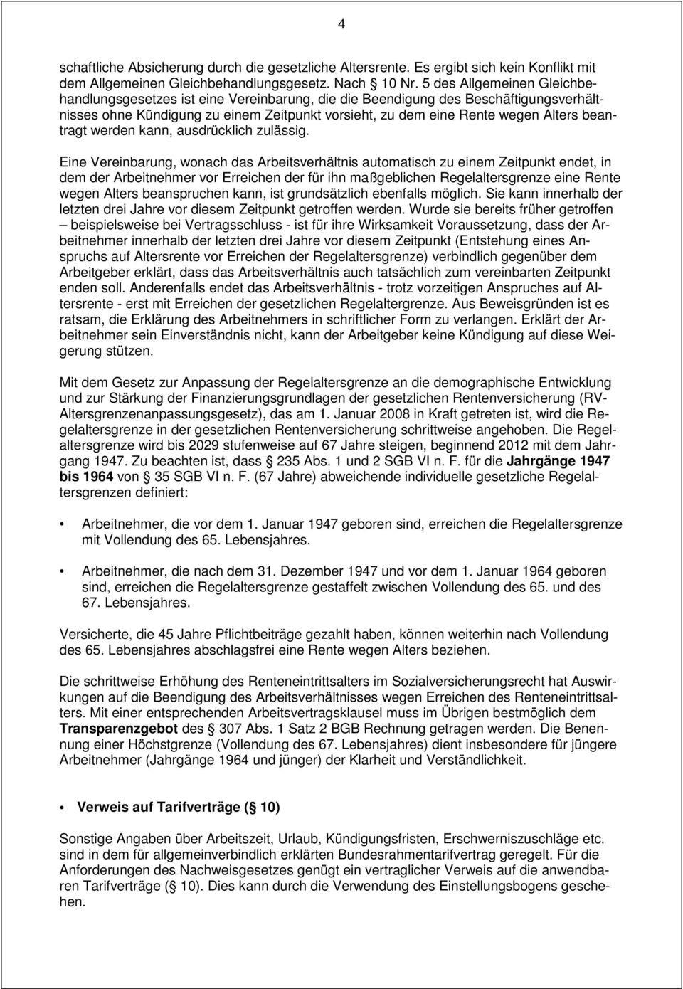 Arbeitsvertrag Für Gewerbliche Arbeitnehmer Im Handwerk  Arbeitsvertrag für gewerbliche Arbeitnehmer PDF