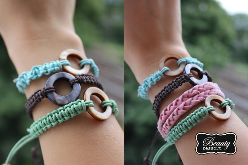 Armband Verschluss Diy  DIY Macrame Armband beautyressort