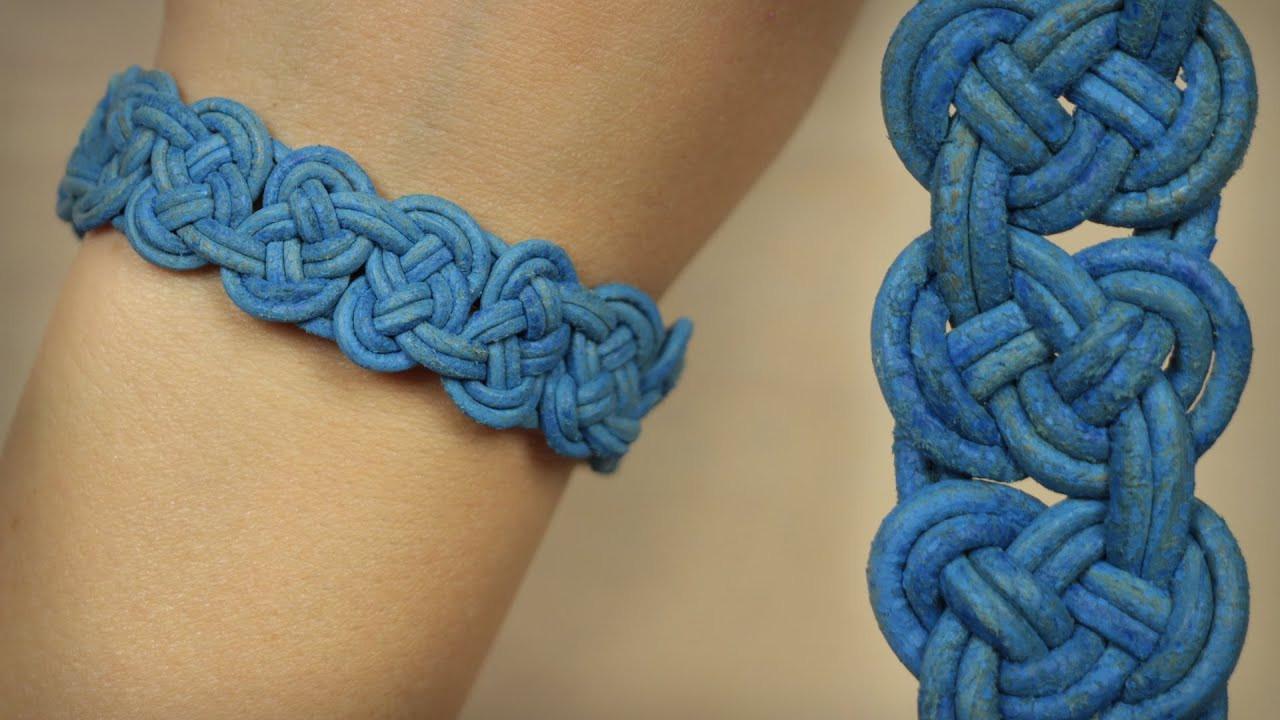 Armband Verschluss Diy  DIY Knoten Armband Seemannsknoten in Reihe einfacher