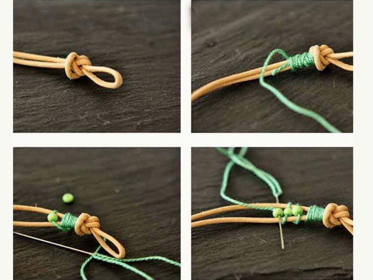 Armband Verschluss Diy  Perlen Armband selber machen