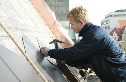 Ausbildungsberufe Handwerk  Ausbildungsberufe der Dachdeckerinnung Bergisches Land