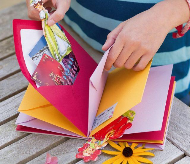 Ausgefallene Geburtstagskarten  Bunte Einladungskarten – Ideen Für Bunte Kindergeburtstage