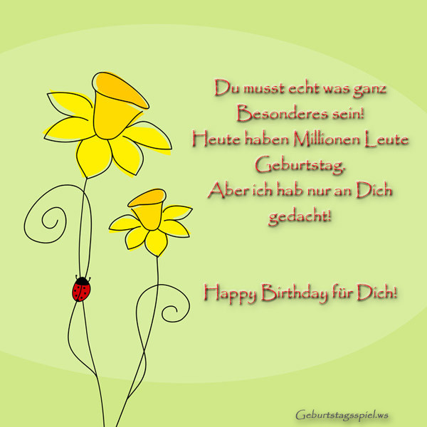 Ausgefallene Geburtstagswünsche  WhatsApp Geburtstagswünsche und Geburtstagsgrüße Lustig
