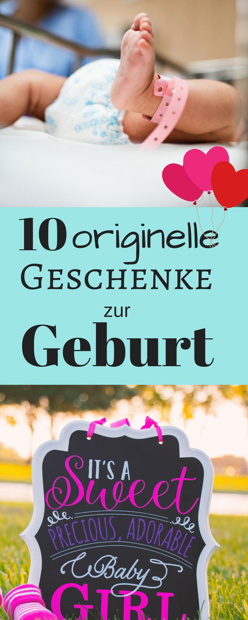 Ausgefallene Geschenke Zur Geburt  10 originelle Geschenke zur Geburt für Mädchen & Jungs