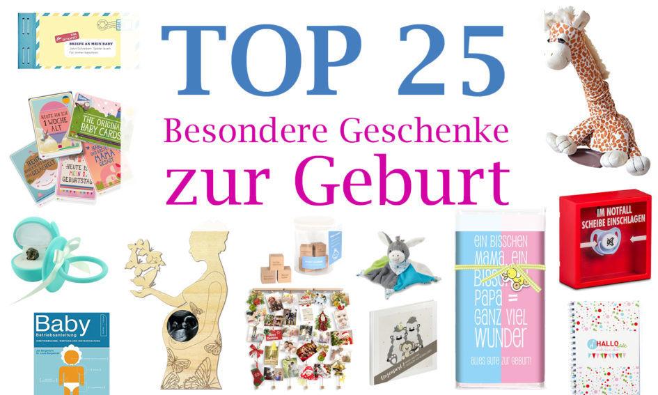 Ausgefallene Geschenke Zur Geburt  Besondere Geschenke zur Geburt Unsere TOP 25