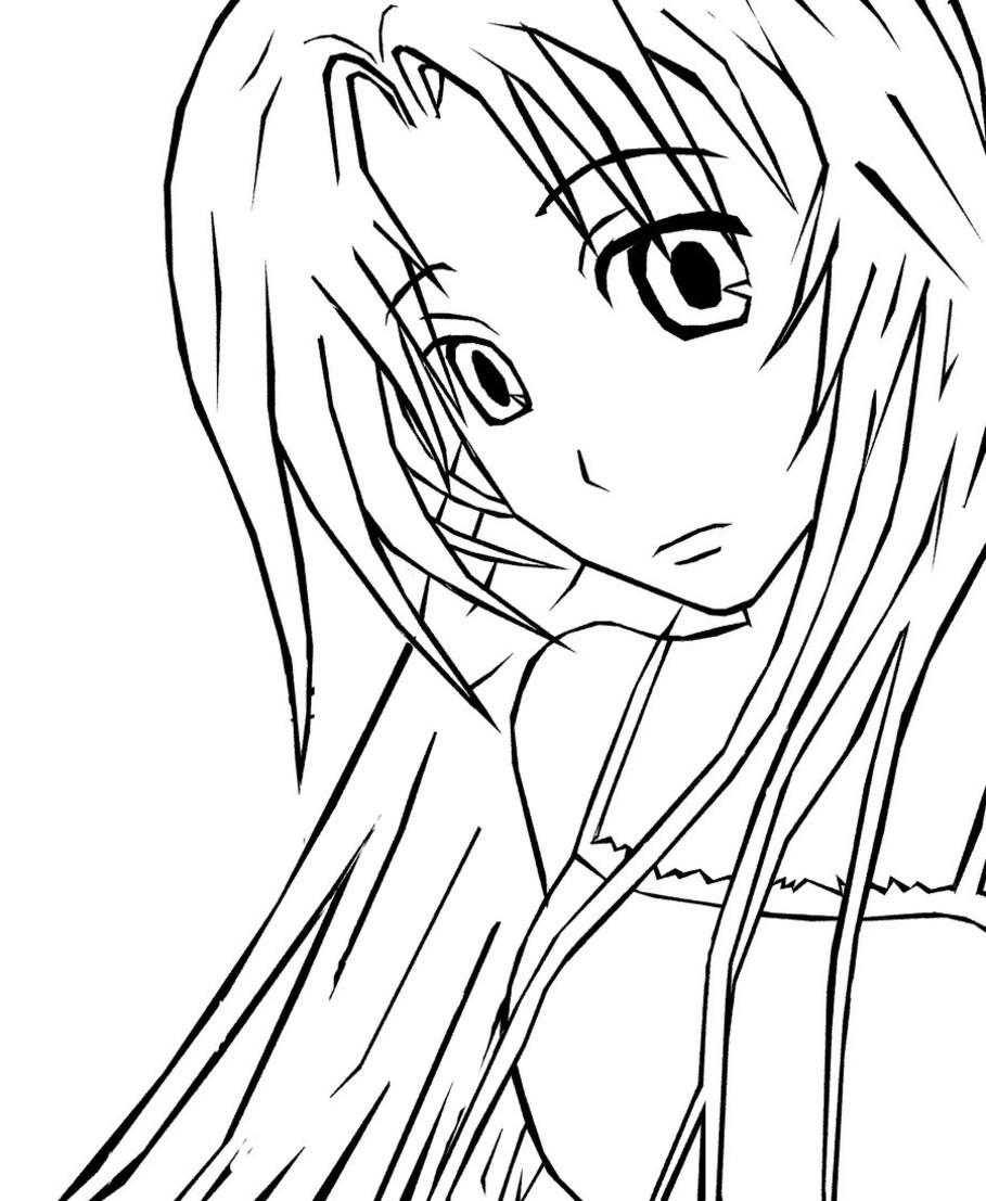 Ausmalbilder Anime Tiere  Manga Ausmalbilder