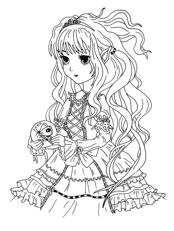 Ausmalbilder Anime Tiere  7 besten Malvorlagen Manga Anime kostenlos zum