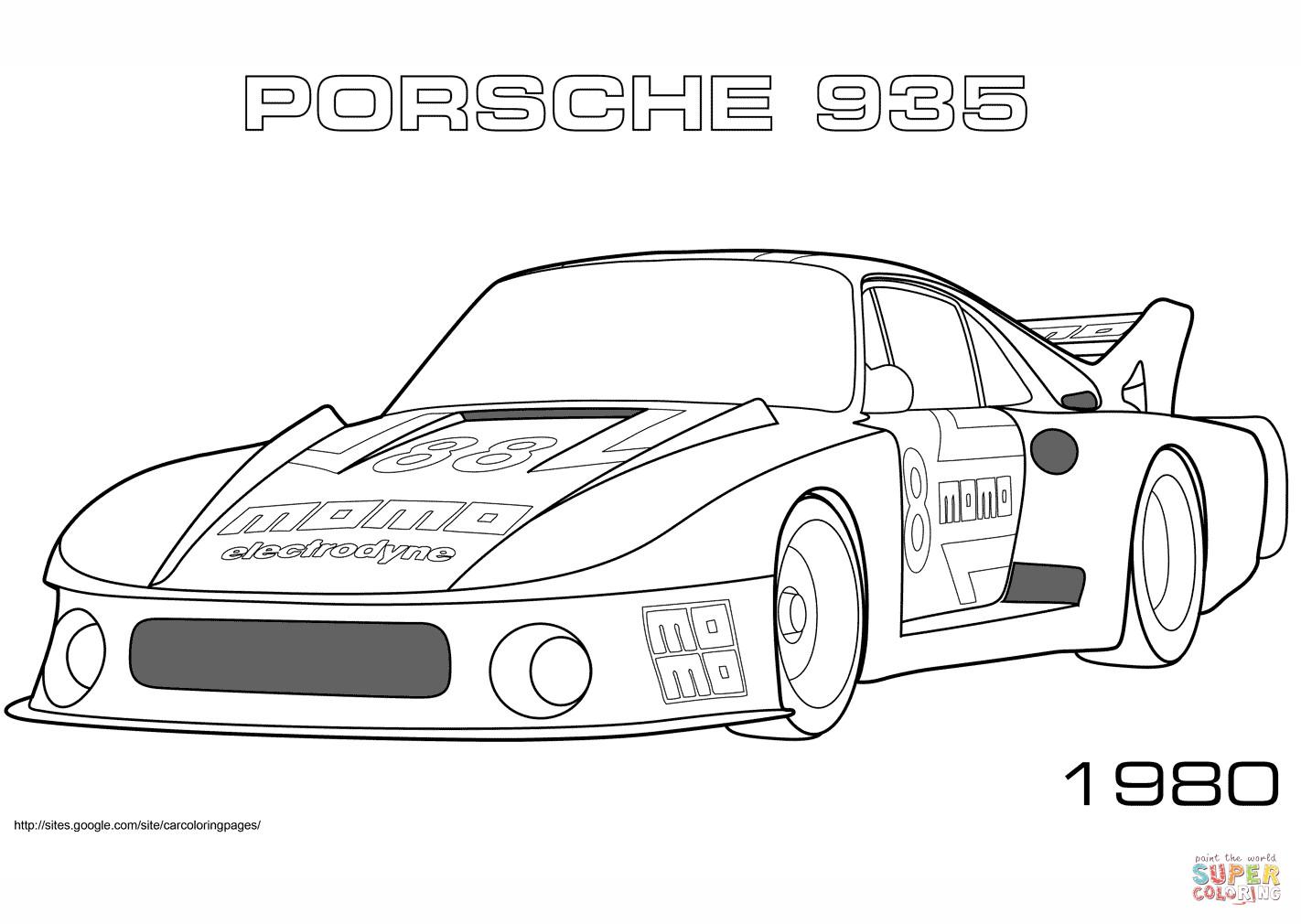 Top 20 Ausmalbilder Autos Porsche Beste Wohnkultur Bastelideen