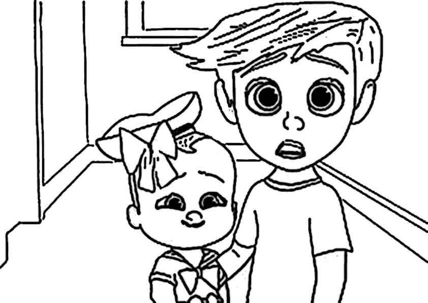 Ausmalbilder Boss Baby  Ausmalbilder Tiere 8