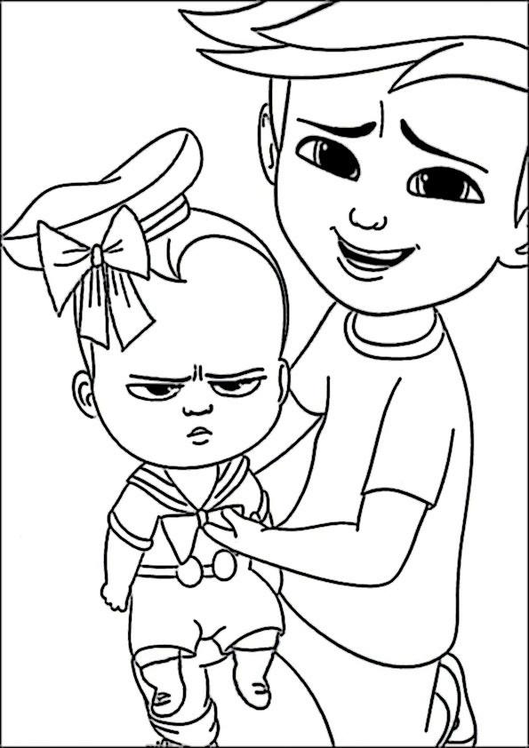 Ausmalbilder Boss Baby  drachenzähmen leicht gemacht ausmalbilder zum drucken und