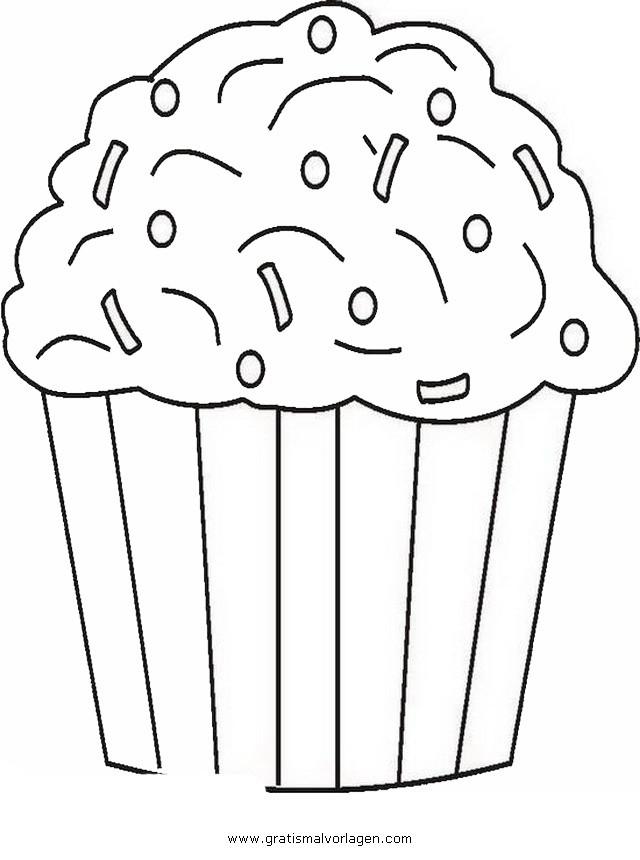 Ausmalbilder Cupcake  cupcake 5 gratis Malvorlage in Beliebt11 Diverse