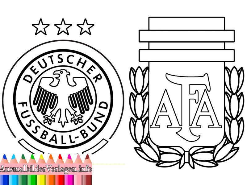 Ausmalbilder Deutschland  Ausmalbilder Fußball Deutschland Ausmalbilder von