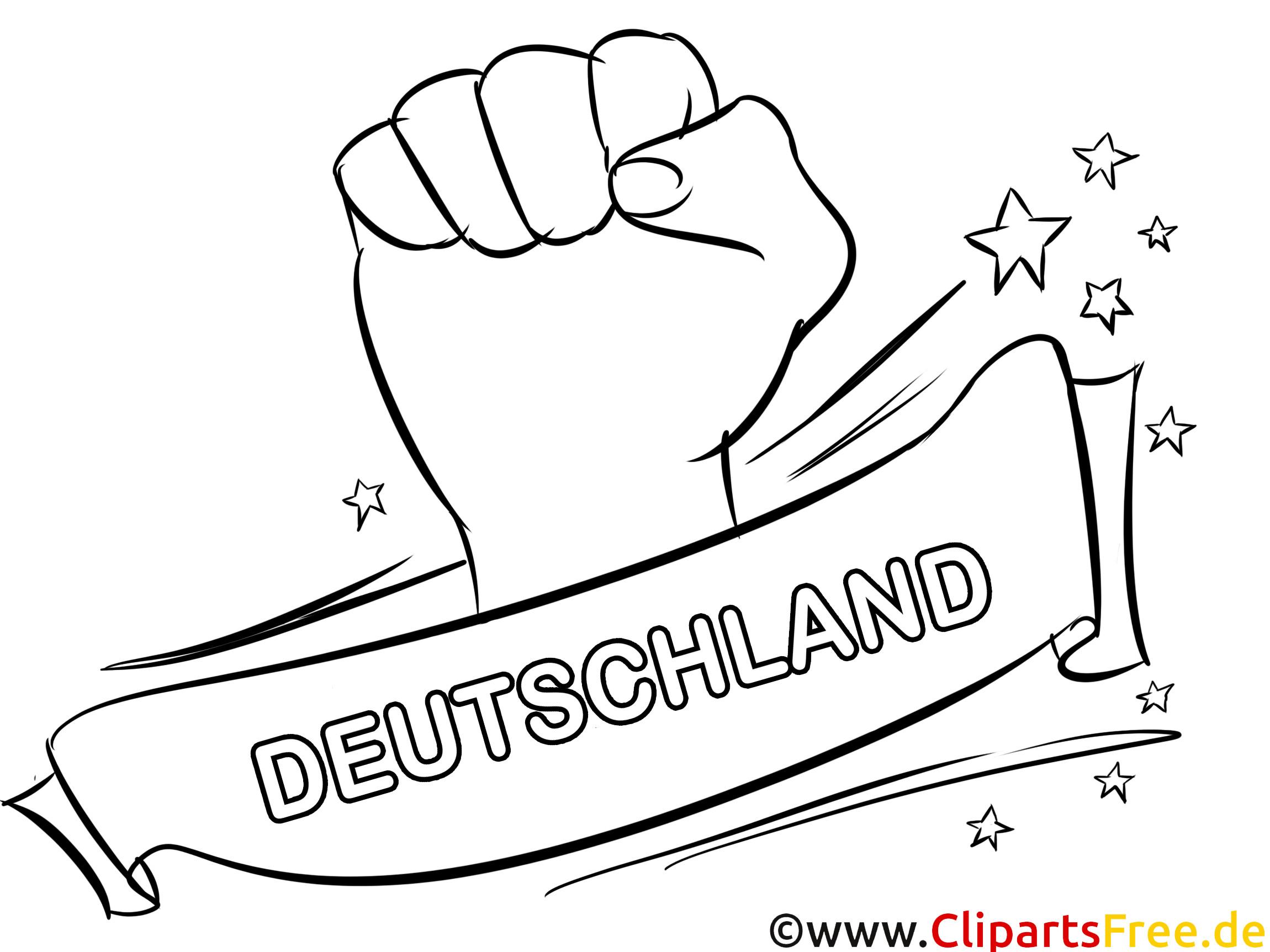 Ausmalbilder Deutschland  Deutschland Fussball und Sport Ausmalbilder