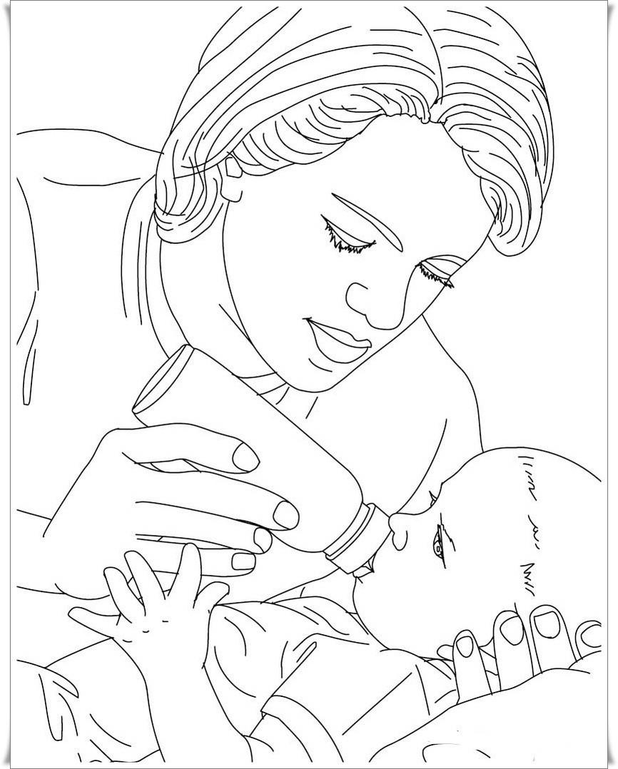 Ausmalbilder Deutschland  100 Baby Ausmalbilder Zum Ausdrucken Bilder Ideen