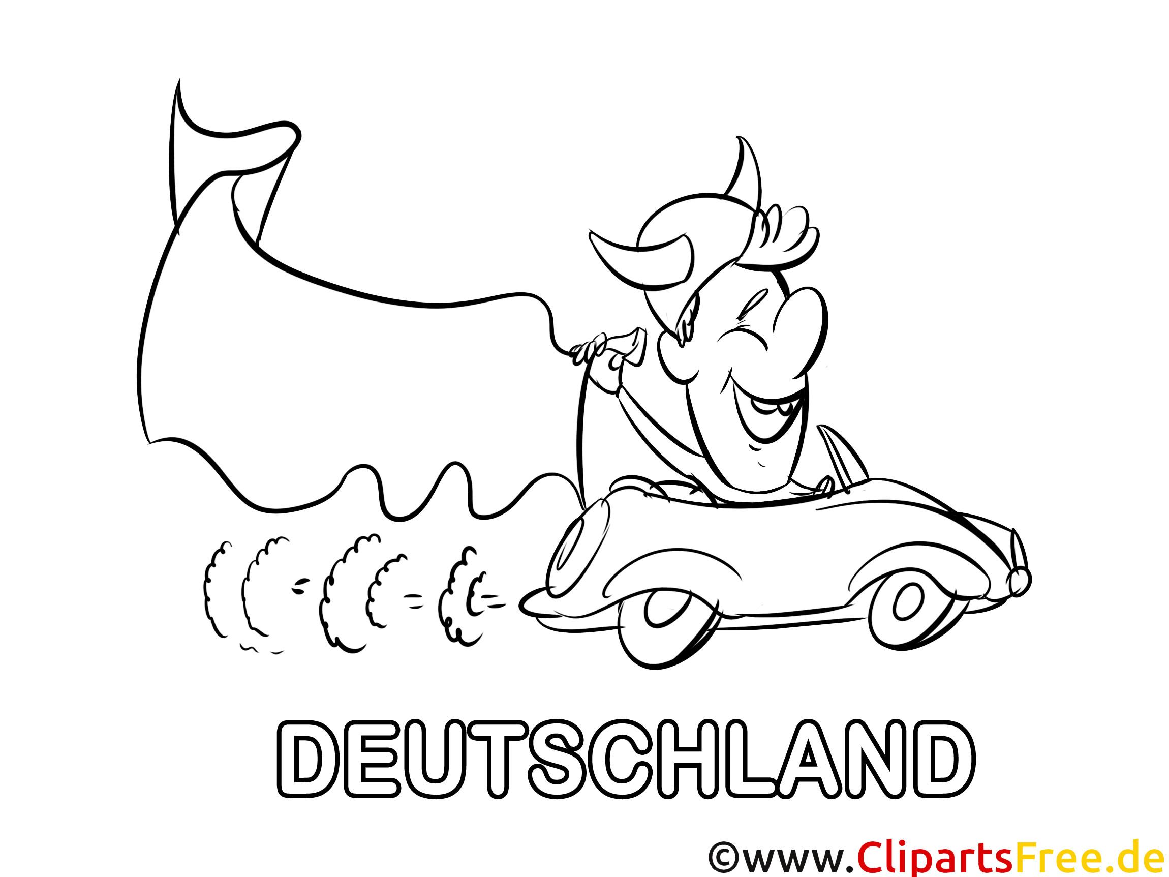 Ausmalbilder Deutschland  Auto Ausmalbilder Fußball Deutschland