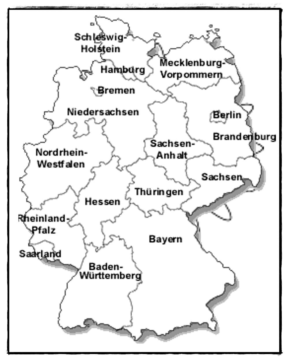Ausmalbilder Deutschland  Kinder123 Spiel und Spass Städte in Deutschland