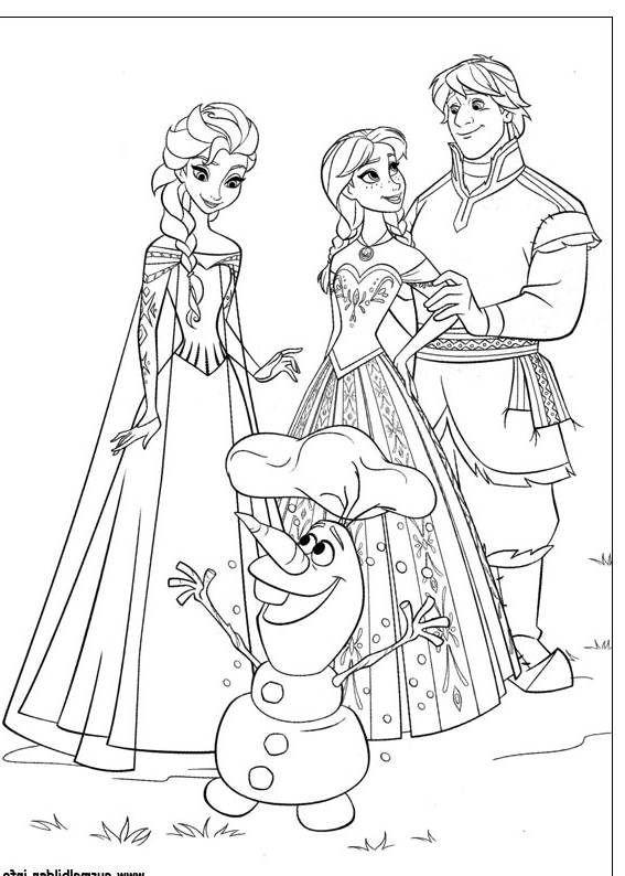 Ausmalbilder Disney Frozen  Ausmalbilder Eiskonigin Disney Frozen 01