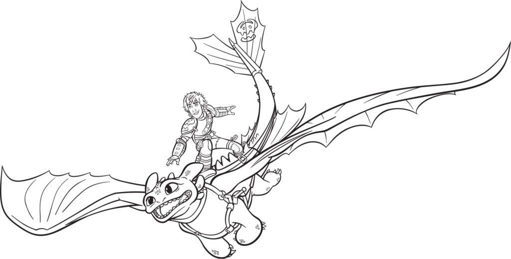 Ausmalbilder Dragons Ohnezahn  Ausmalbilder Dragons superbbondfo