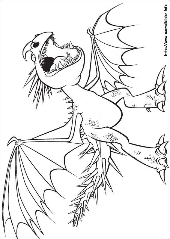 20 ideen für ausmalbilder dragons ohnezahn  beste