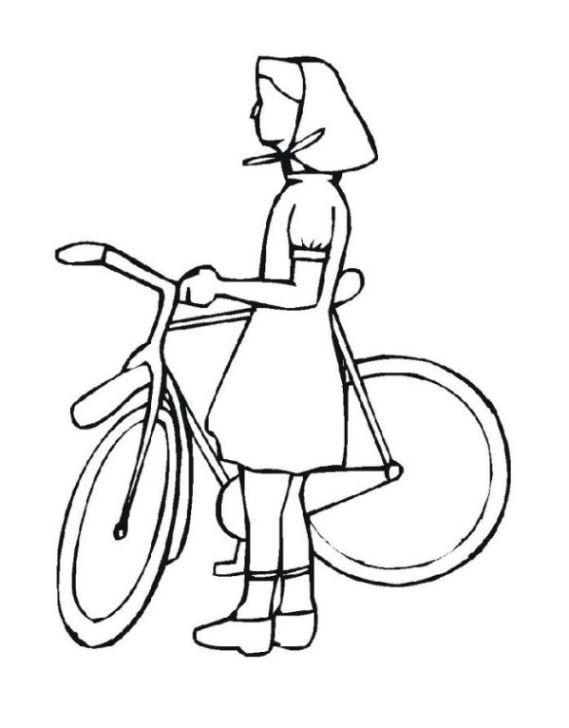Ausmalbilder Fahrrad  Schöne Ausmalbilder Malvorlagen fahrrad ausdrucken 2