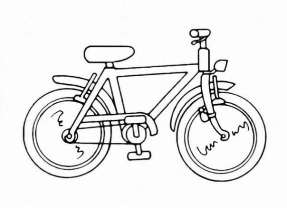 Ausmalbilder Fahrrad  Kinder Sport Armbanduhr Wasserdichte Runde Digitaluhr mit