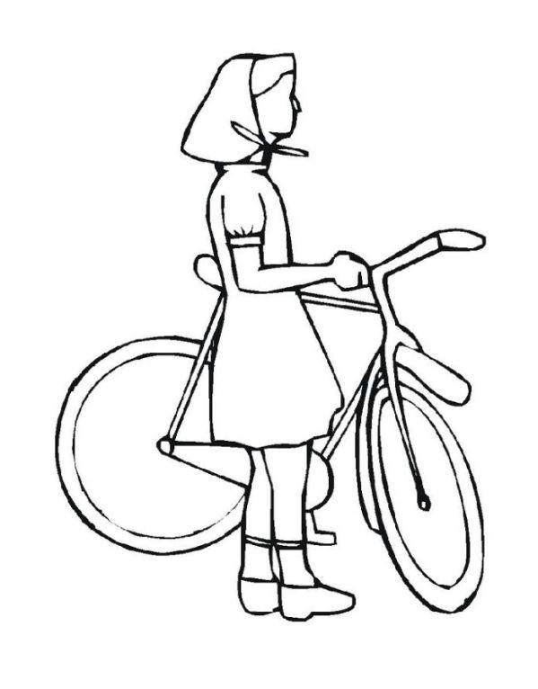 Ausmalbilder Fahrrad  Ausmalbilder von Fahrrad ausdrucken Malvorlagen kostenlos