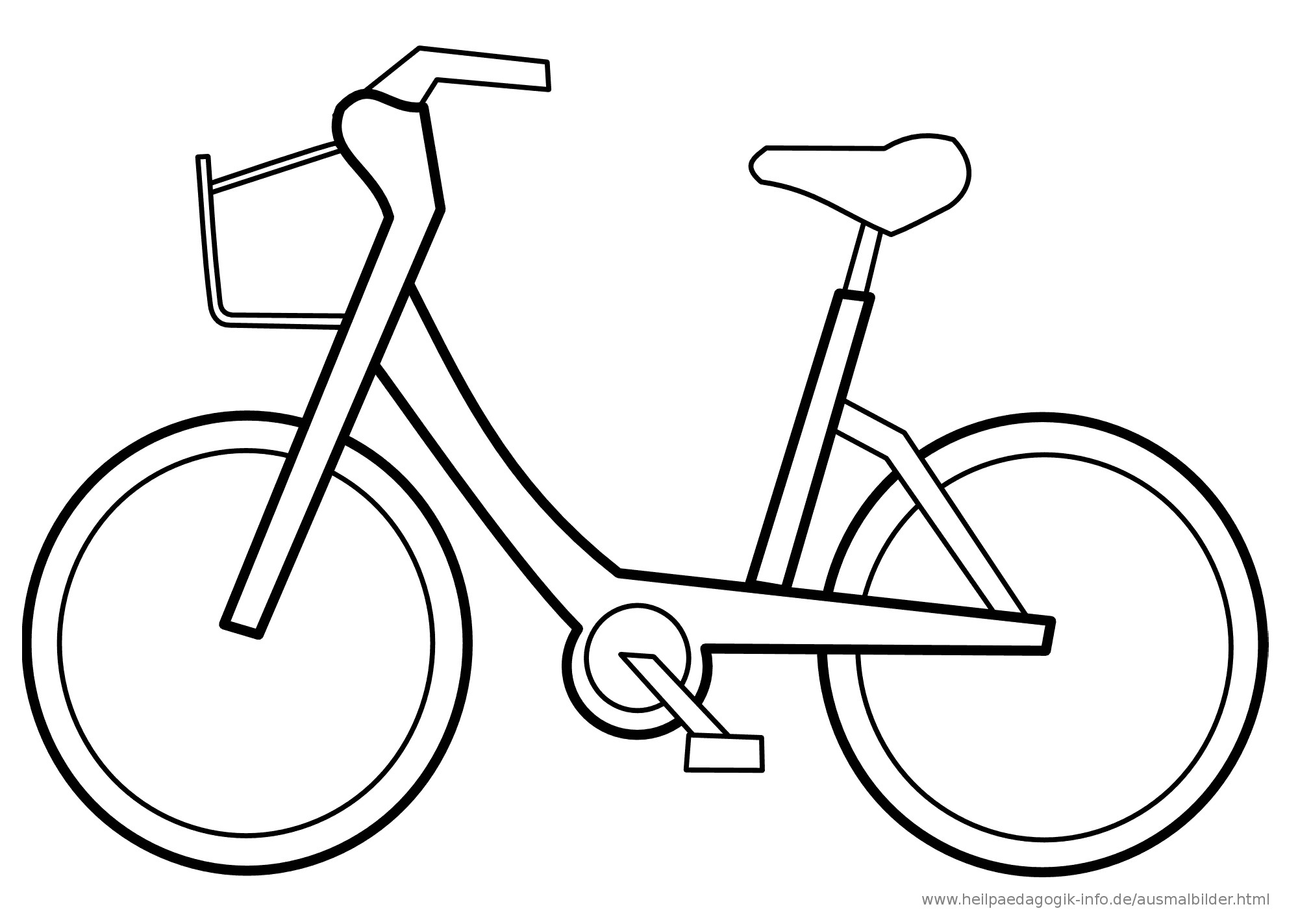 Ausmalbilder Fahrrad  301 Moved Permanently