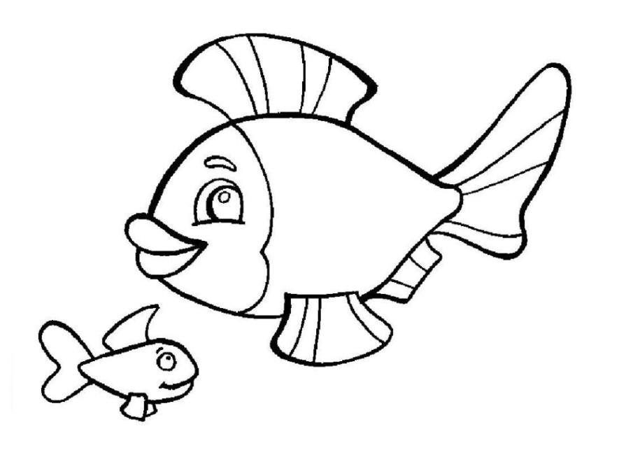 die 20 besten ideen für ausmalbilder fische kostenlos