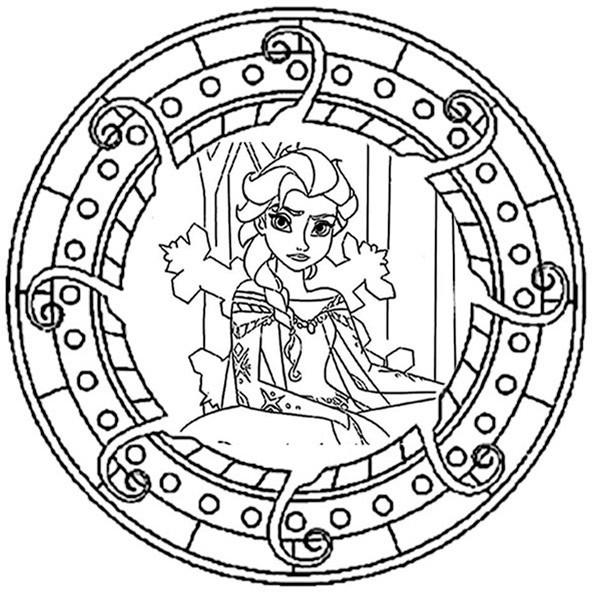 Ausmalbilder Frühling Mandala  Ausmalbilder Mandala Kostenlos Drucken