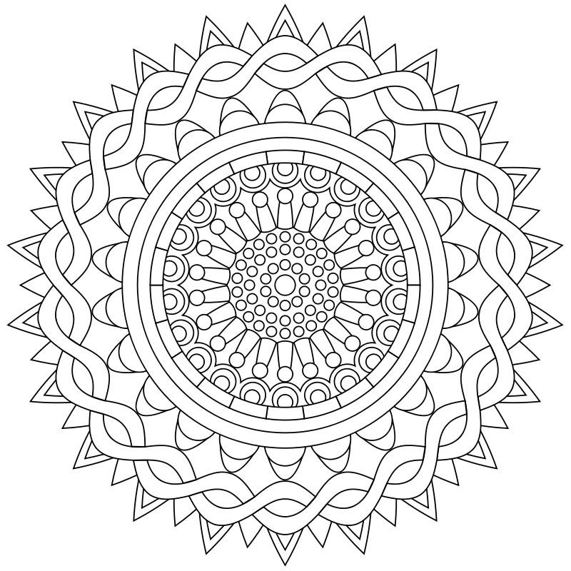 Die 20 Besten Ideen Für Ausmalbilder Frühling Mandala Beste