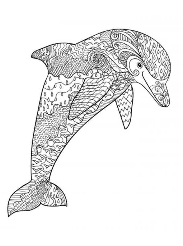 Ausmalbilder Für Erwachsene Tiere  Malvorlage Tiere fur erwachsene ausmalbilder zou7i