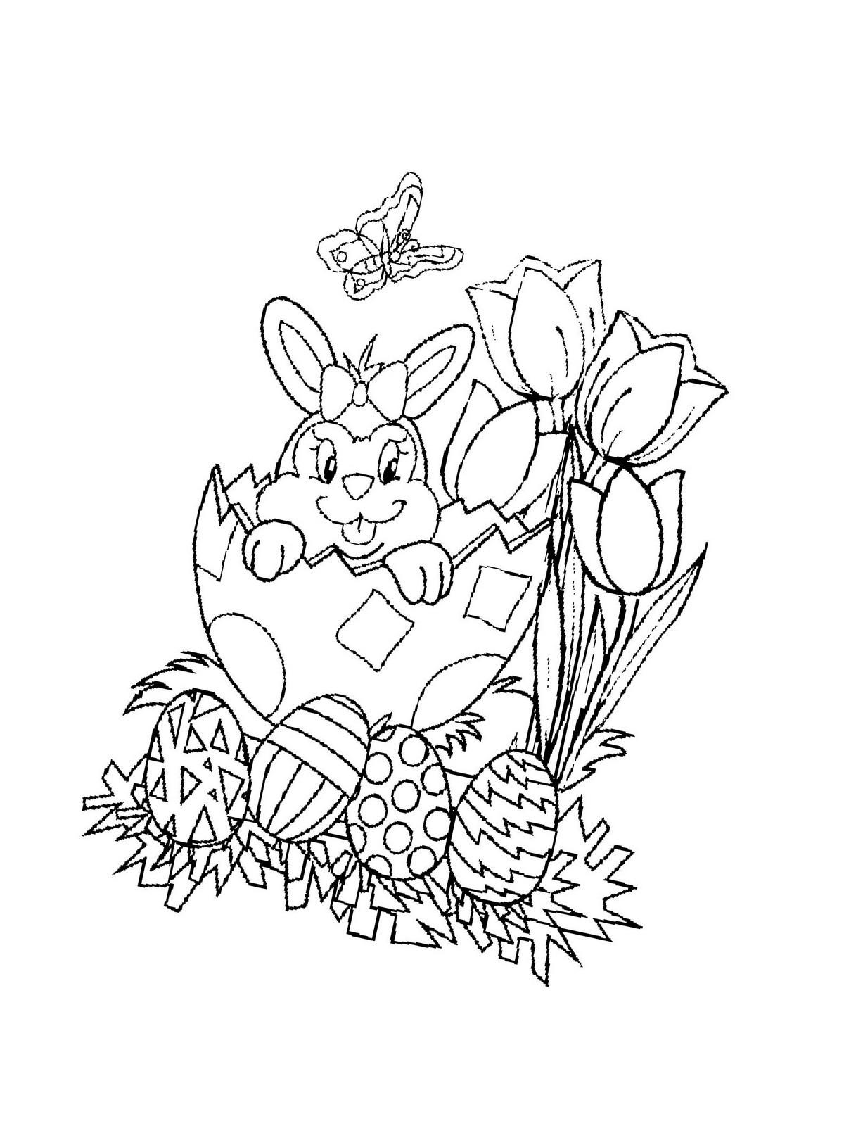 Ausmalbilder Für Ostern  Ausmalbilder kostenlos für Ostern 39