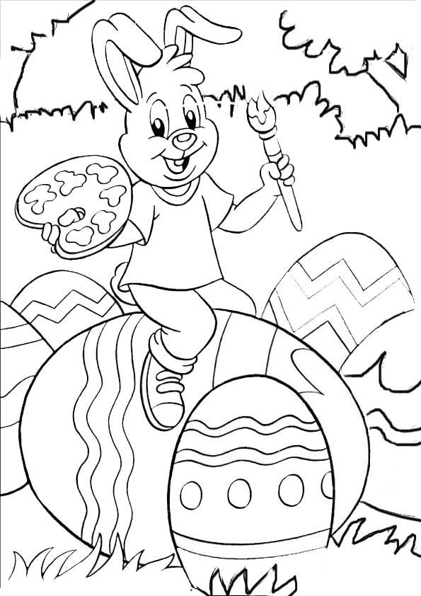 Ausmalbilder Für Ostern  aumalbilder malvorlagen ostern