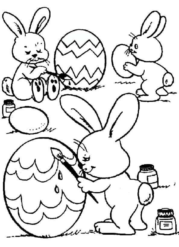 Ausmalbilder Für Ostern  Ausmalbilder kostenlos Ostern 17