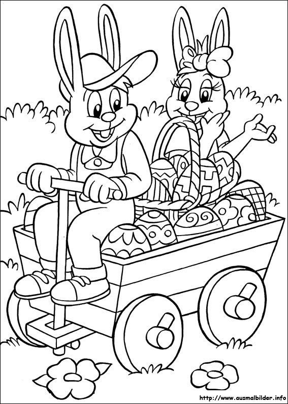 Ausmalbilder Für Ostern  AUSMALBILD OSTERN – Ausmalbilder für kinder